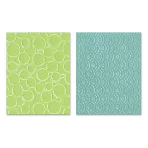 Sizzix Textured Impressions Embossing Folders - Circles & Dots class=