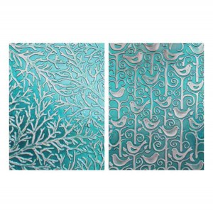 Spellbinders Tweets and Twigs Embossing Folders class=