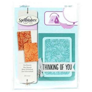 Spellbinders Sea Beauty Embossing Folders