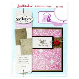 Spellbinders Garden Delight Embossing Folders