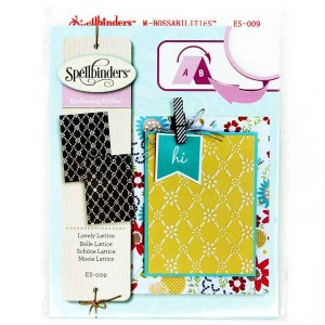 Spellbinders Lovely Lattice Embossing Folders