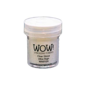 Clear Gloss Ultra High Embossing Powder