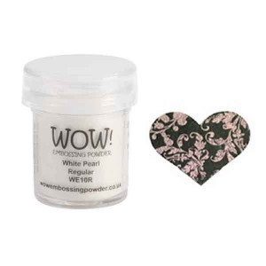 White Pearl Embossing Powder