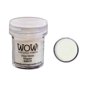 Opaque Vanilla White Embossing Powder