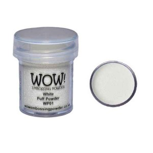 WOW! White Puff Powder Embossing Powder class=