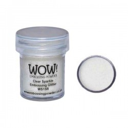 WOW! Clear Sparkle Embossing Powder