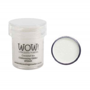 Coconut Ice Embossing Powder