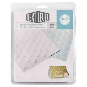 Dotted Next Level Embossing Folder