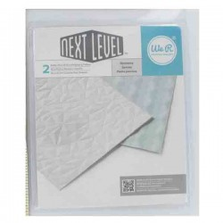 We R Memory Keepers Gemstone Next Level Embossing Folder