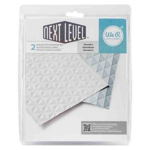 Geometric Next Level Embossing Folder