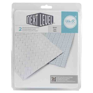 Woven Next Level Embossing Folder