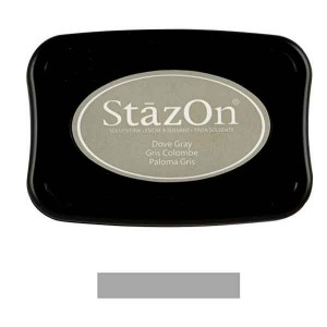 Dove Grey StazOn Solvent Ink Pad