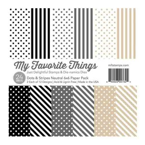 Dots & Stripes Neutral Paper Pad