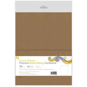 Kraft Neenah Heavyweight 100lb Cover Cardstock