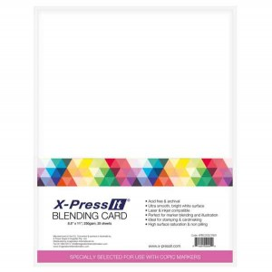 X-Press It White Blending Card class=