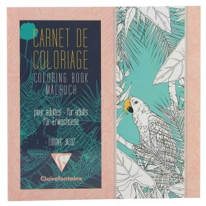 Bird Carnet de Coloriage Coloring Book for Grown Ups