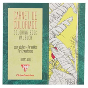 Flower Carnet De Coloriage Coloring Book for Grown-ups class=