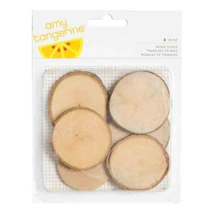 Wood Slices - 6 pack
