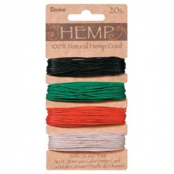 Darice Hemp Cord - Primary