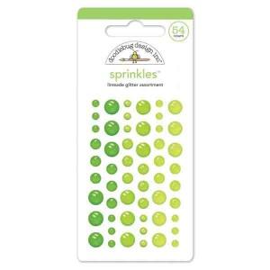 Self Adhesive Glitter Enamel Dots – Limeade