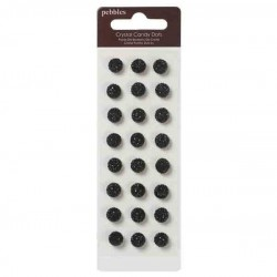 Crystal Candy Dots - Black