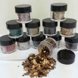 Mica Flakes – 12 count