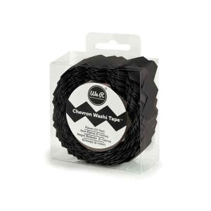 Chevron Washi Tape - Raven