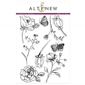 Altenew Botanical Garden Stamp Set