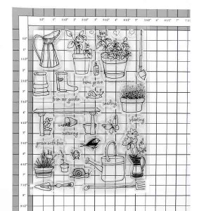 Altenew Garden Grow Stamp Set class=