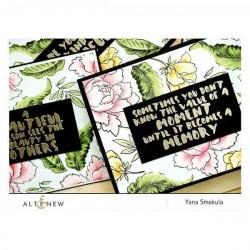 Peony Bouquet Stamp Set