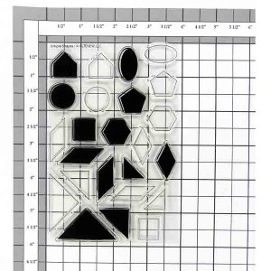 Altenew Simple Shapes Stamp Set class=