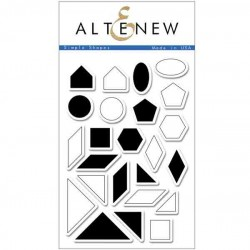 Altenew Simple Shapes Stamp Set