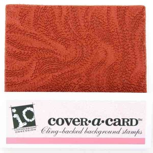 Impression Obsession Cover-A-Card Waves Stamp class=