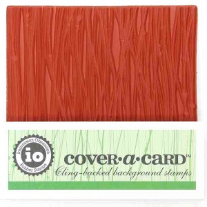 Impression Obsession Cover-A-Card Wavy Lines Stamp class=