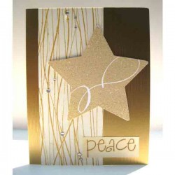 Cover-A-Card Wavy Lines Stamp