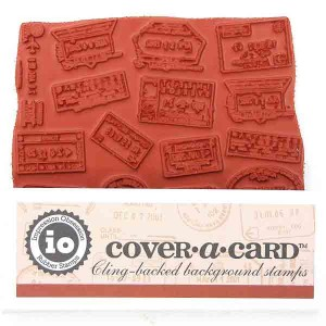 Impression Obsession Cover-A-Card Passport Stamp class=