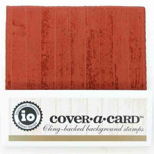 Impression Obsession Wooden Plank Cover-A-Card Stamp class=