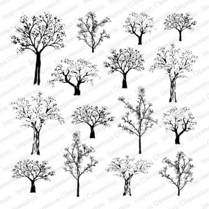 Cover-A-Card Tree Row Stamp