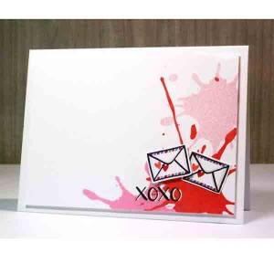 Neat & Tangled Ink Splash Stamp Set class=
