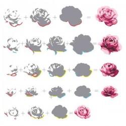 Vintage Roses Stamp Set