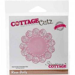 CottageCutz Rose Doily Die