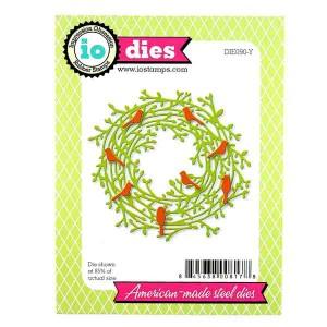 Leafy Wreath Die