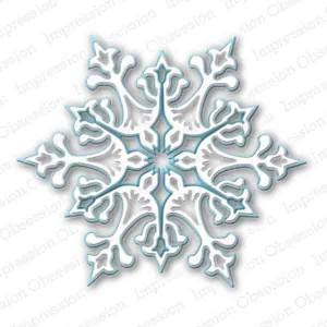 Large Snowflake Die class=