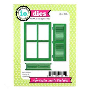 Impression Obsession Window with Shutter Die Set