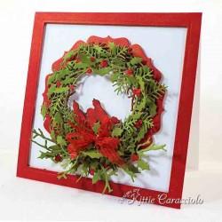Holly Wreath Die Set