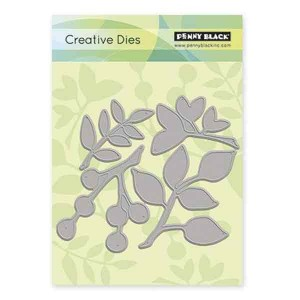 Penny Black Leaves Creative Die Set class=