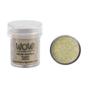 WOW! Metallic Gold Rich Embossing Powder class=