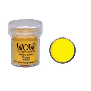 Primary Lemon Embossing Powder