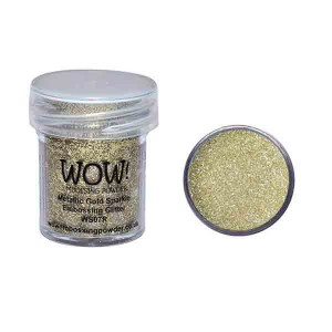 Metallic Gold Sparkle Embossing Powder