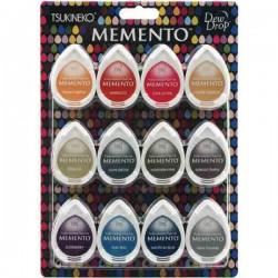 Memento Snow Cones Dew Drops Ink Pad Set